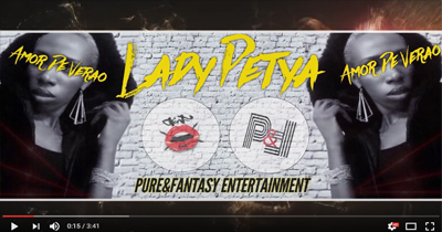 Lady Petya – Amor De Verão (Official Lyric video)